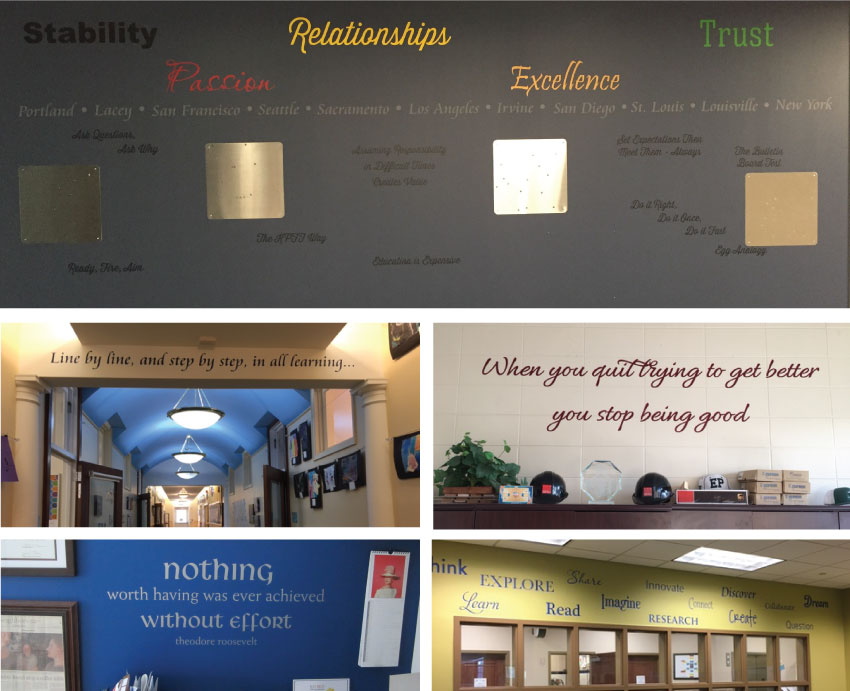 professional office wall quotes