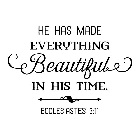 Made Everything Beautiful Wall Quotes™ Decal | WallQuotes.com