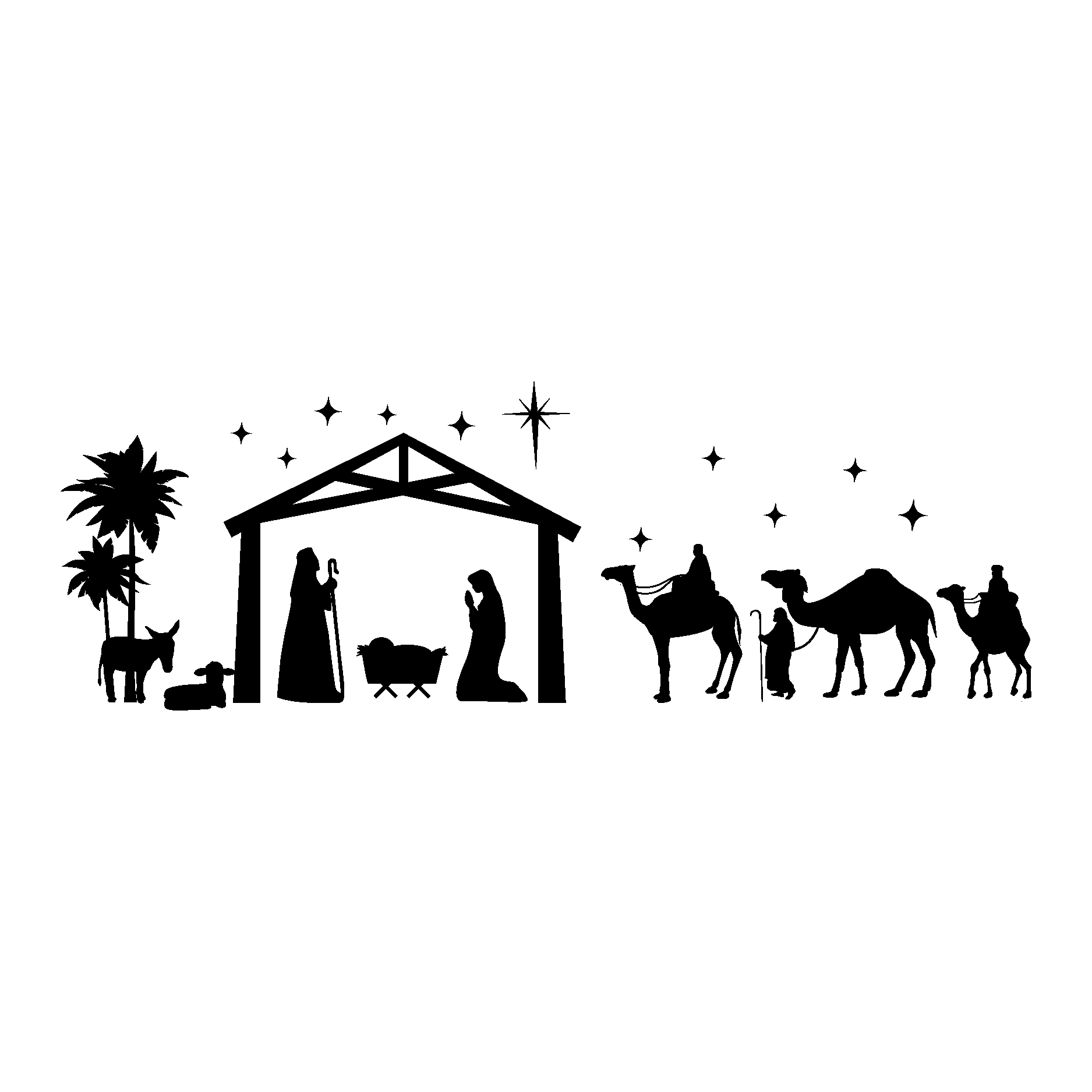 Nativity Wall Quotes Wall Quotes Decal Wallquotes Com