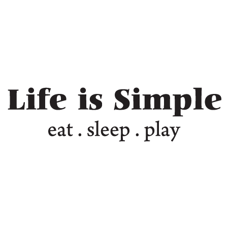 simple wall quotes life is simple wall quotes decal wallquotescom