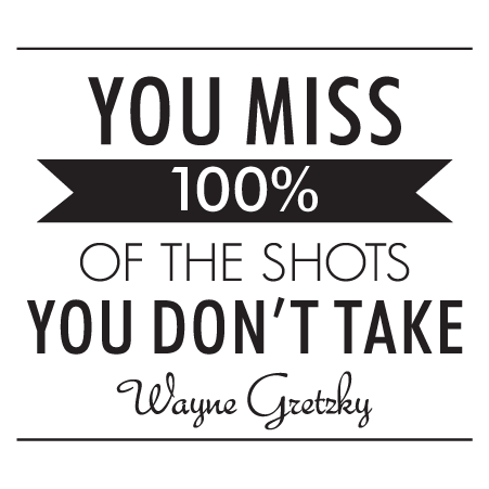 Modern Shots You Don T Take Wall Quotes Decal