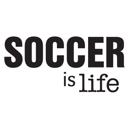 Soccer Is Life Wall Quotes Decal Wallquotes Com