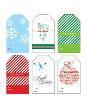 Free Printable Christmas Gift Tags WallQuotes.com