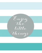Free Printable Enjoy the Little Things WallQuotes.com