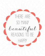 Free Printable Be Happy WallQuotes.com