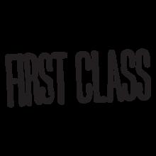 first class postmark wall art decal