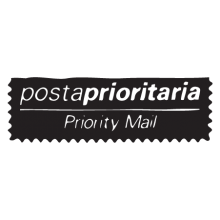 posta prioritaria postmark wall art decal