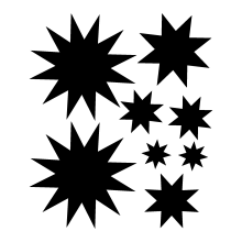 Starburst (qty8)