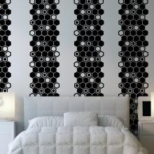 Hexagon Panel Wall