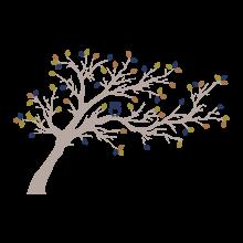 woodland tree with owl