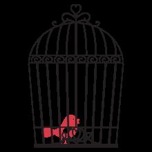 Vintage Bird Cage