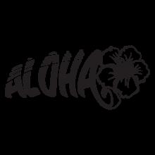 aloha hibiscus wall art decal