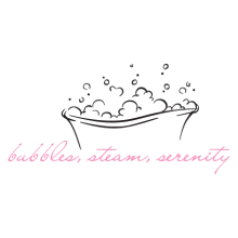 bubbles, steam, serenity wall quotes decal