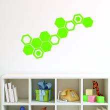 Set of 12 Hexagons (single color)