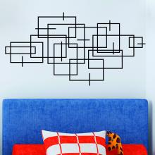 Squares and Lines Headboard