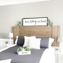Let's stay in bed wall quotes vinyl lettering wall decal home decor vinyl stencil bedroom funny master sleep lazy
