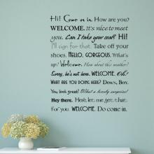 welcome, entryway, hello, glad you're here, gorgeous, home,