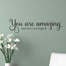 You are amazing (and don't you forget it) confidence wonderful self