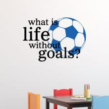 what is life without goals soccer ball play player sport football futbul