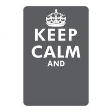 Chalkboard Keep Calm Wall Art Decal wall quotes vinyl lettering wall decal home decor write lists notes list