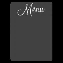 Vintage chalkboard menu decal