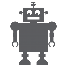 Chalkboard Robot