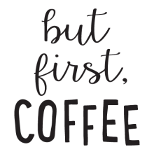 But First Coffee Wall Quotes™ Decal perfect for any kitchen