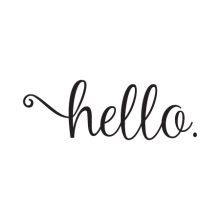 Sweet Hello Wall Quotes™ Decal perfect for any home