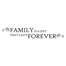 a gift that lasts forever wall decal