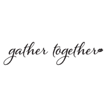 gather together wall decal