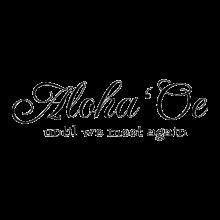Aloha 'Oe until we meet again decal