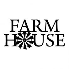 Farmhouse (windmill) wall quotes vinyl lettering wall decal home decor vinyl stencil farm style rustic vintage home