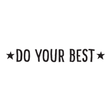 Do your best with stars