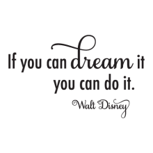 Dream It Do It Elegant Wall Quotes™ Decal perfect  for any home