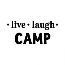 Live Laugh - fill in the blank - wall quotes vinyl lettering love camp travel nap anything custom personalized inspiration