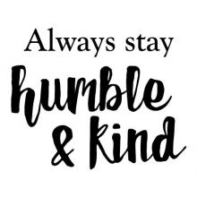 Always stay humble and kind wall quotes vinyl lettering wall decal country music lyrics tim mcgraw