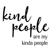Kind people are my kinda people wall quotes vinyl lettering wall decal home decor vinyl stencil be kind golden rule inspiration