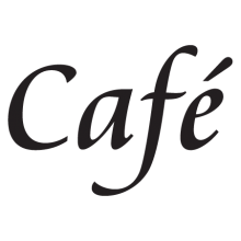 Café wall quote decal
