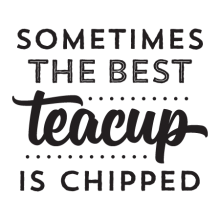 The Best Teacup inspirational great for any kitchen Wall Quotes™ Decal