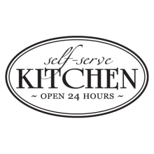 self serve kitchen open 24 hours wall quotes decal