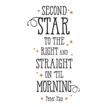 Second Start To The Right inspirational for any home Wall Quotes™ Decal