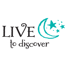 live to discover wall decal