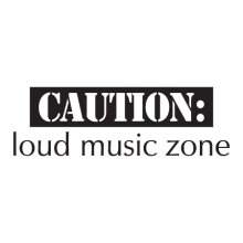 Loud Music Zone inspirational for any kids room Wall Quotes™ Decal