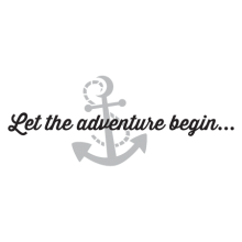let the adventure begin anchor decal