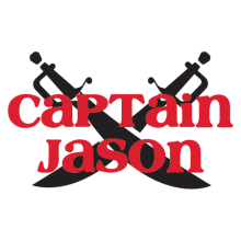 custom captain swords wall decal