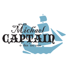 custom captain o' this crew wall decal