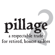 pilage pirate wall decal