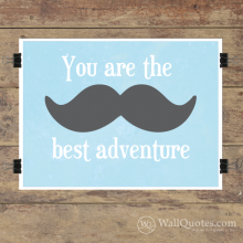 Best Adventure Wall Quotes™ Giclée Art Print