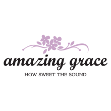 amazing grace how sweet the sound religious wall decal