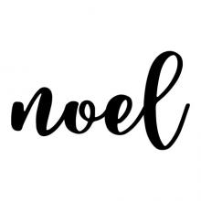 Noel wall quotes vinyl lettering wall decal home decor christmas xmas holiday seasonal french